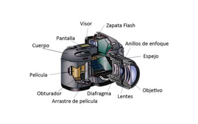 Partes de la cámara y sus funciones